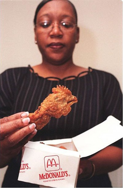 Real chicken head found in McDonalds Happy Meal