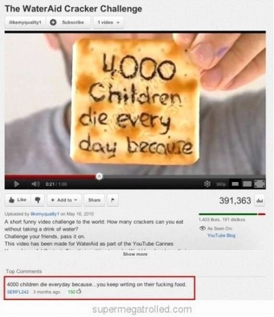 Most Hilarious YouTube Comments