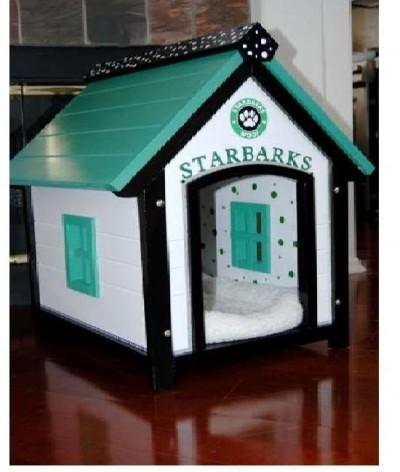 Coffee shop dog house