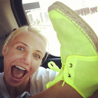 Bizarre celebrity selfies