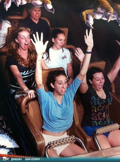 Hilarious roller coaster moments