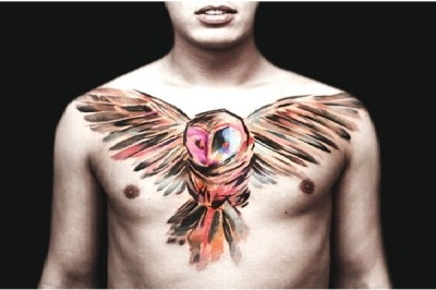 Amazing Watercolor Painting Tattoos