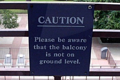 Hilariously stupid signs