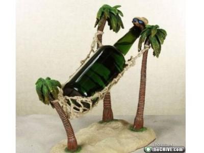 Creative bottle holders