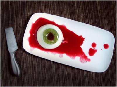 Scary Halloween Dishes