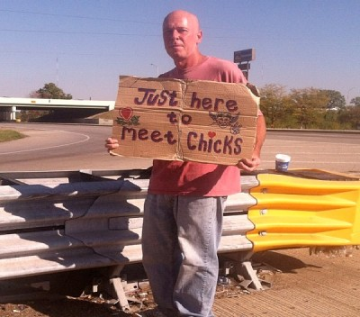 Unusual Panhandlers