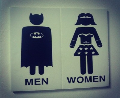 Creative and funny toilet signs
