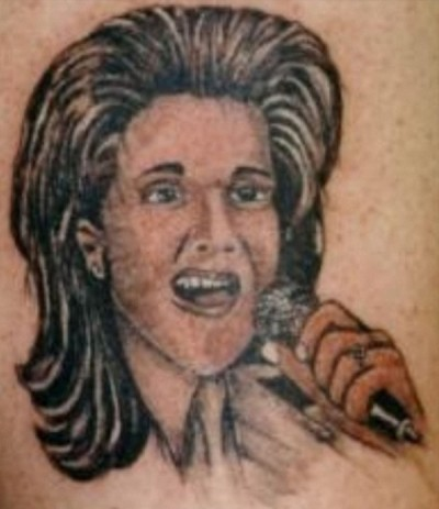 Worst celebrity faces tattoos