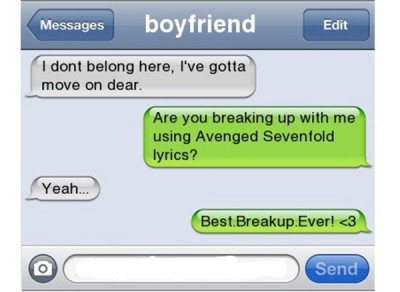 Funniest Break-up Lines