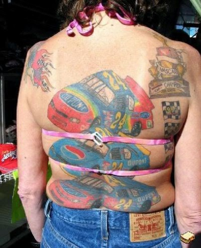 Worst back tattoos