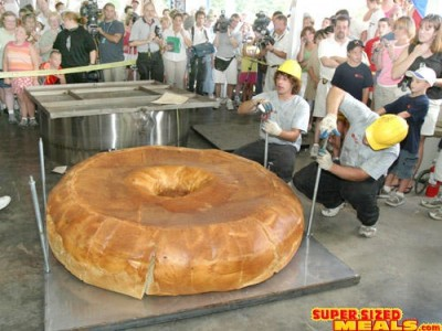 Biggest foods in the world