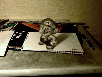 Amazing 3d Paper Drawings