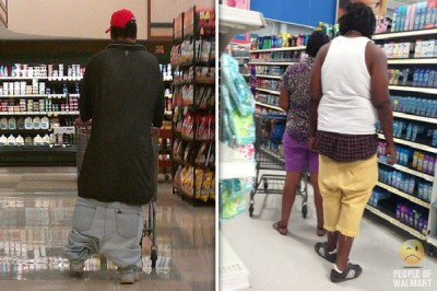 Strangest people of Walmart