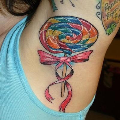 Bizarre armpit tattoos