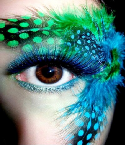 Crazy Eye Make Up