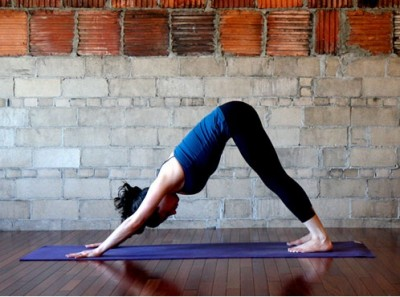 Simple yoga positions to relieve stress