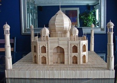 Creative Toothpicks Models