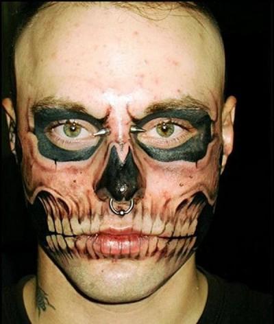 Wackiest anatomical tattoos