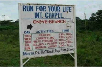 Bizarre Church Names