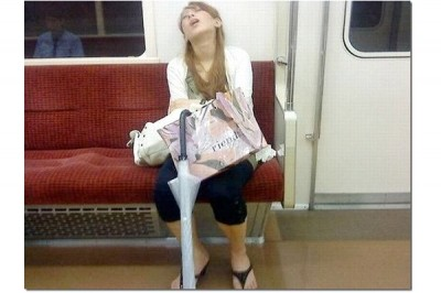 Funny Ways People Found Sleeping
