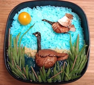 Most creative and tasty bento box art