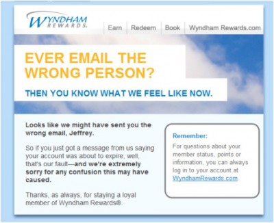 Hilarious email blunders