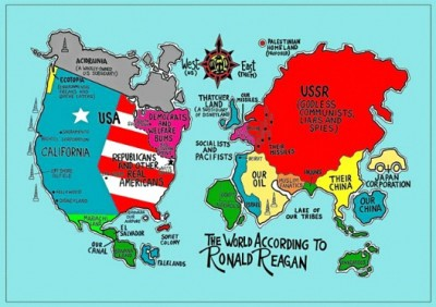 Funny Maps You Won't Learn In School