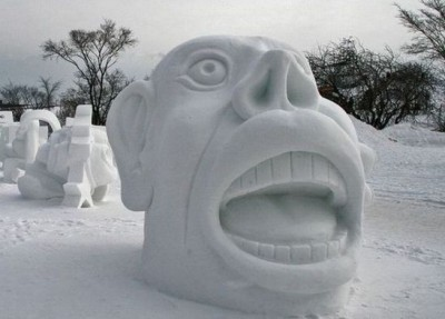 Most amazing snow sculptures