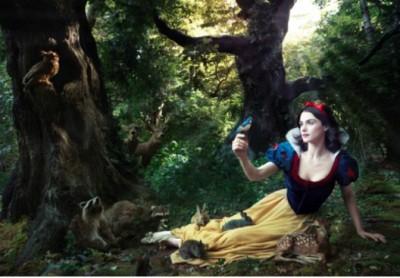 Celebs in Disney Inspired Photos