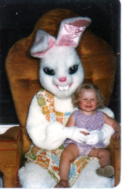 Not so cute Easter bunnies