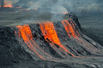 Most active volcanoes in the world
