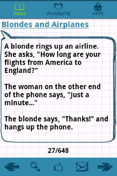 Best blonde jokes