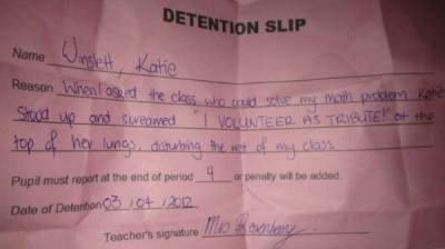 funniest detention slips ever
