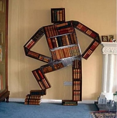 Creative bookshelf ideas
