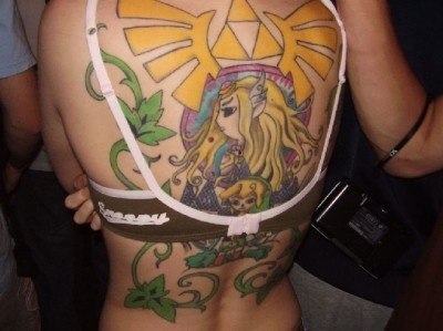 sexiest video game tattoos