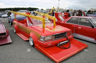 Car modification fails