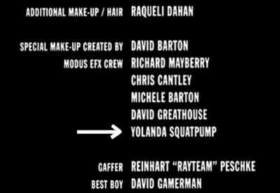 Funny Little Moments Found In Movie Credits