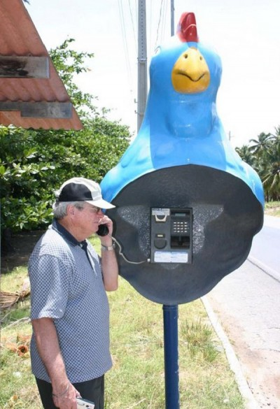 Weirdest public phone booths