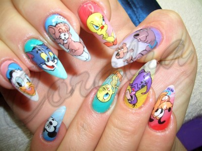 Most creative nail art