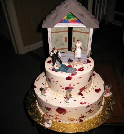 Amazing Zombie Wedding Cakes