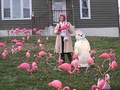 Strangest lawn ornaments