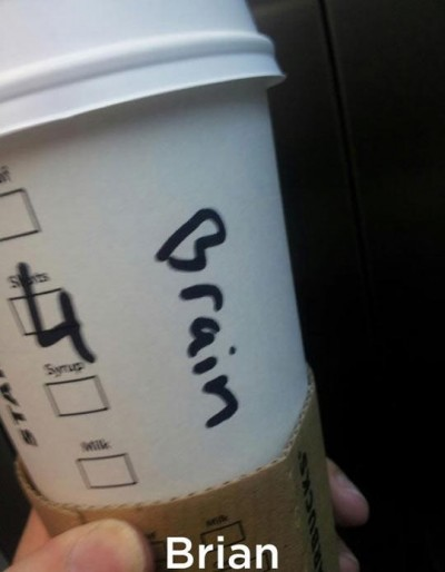 Funny Starbucks cup spelling fails
