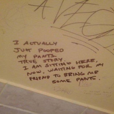 Funniest toilet graffiti