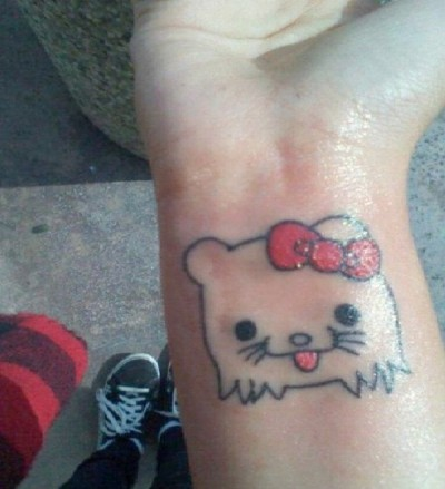 Craziest Hello Kitty Tattoos