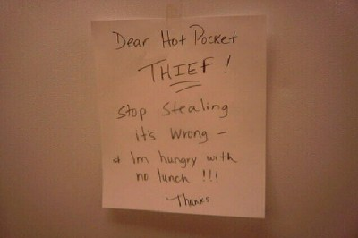 Funniest notes to thief