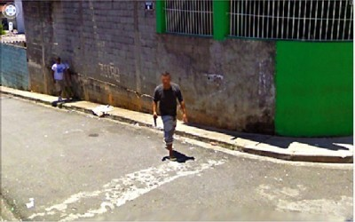 Disturbing Google Street Views