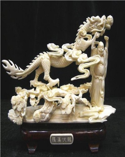 Amazing bone carvings