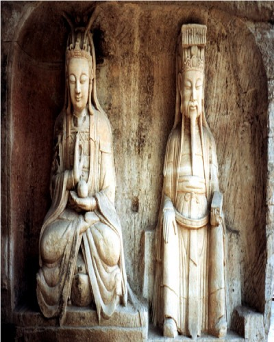 Amazing mountain carvings