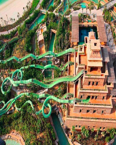 Craziest water slides