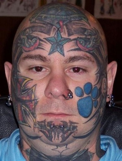 Ugliest Face tattoos